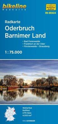 Bikeline Radkarte Oderbruch, Barnimer Land