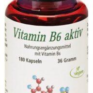 CHRISANA Vitamin B6 aktiv Kapsel (180 Stück)