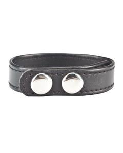 C&B Gear Snap Cock Ring Black - 20 cm