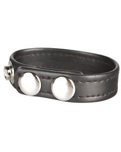 C&B Gear Snap Cock Ring Black - 22 cm