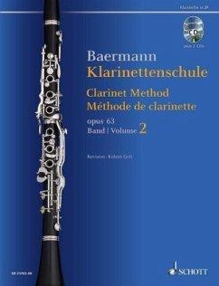 Klarinettenschule op.63, Klarinette in B, m . 2 Audio-CDs