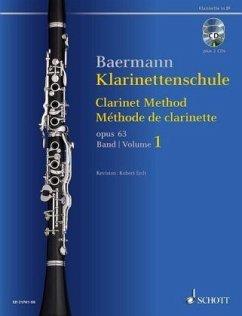 Klarinettenschule op.63, Klarinette in B, m. 2 Audio-CDs