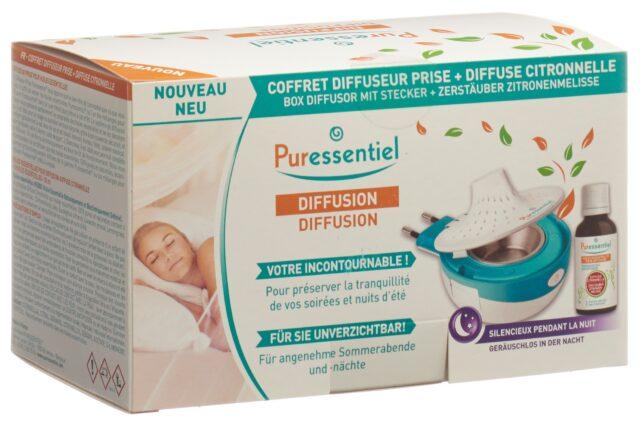 Puressentiel Box mit Diffusor Stecker + 1 Diffus Zitronell 30 ml +1Zitronell (1 Stück)