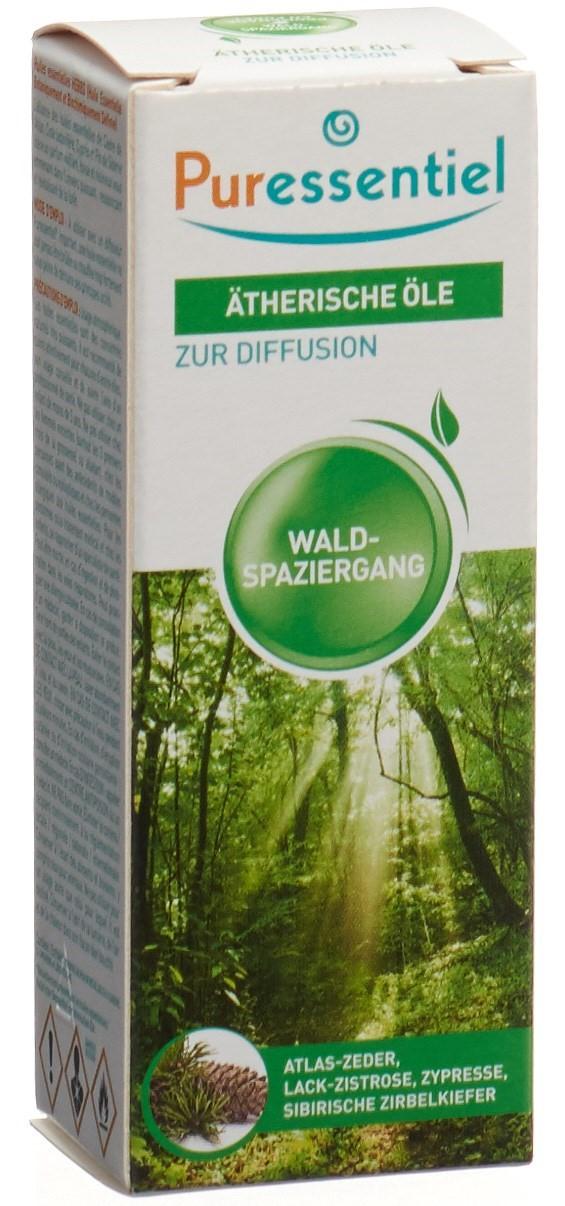 Puressentiel Duftmischung Waldspaziergang ätherische Öle zur Diffusion (30 ml)