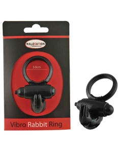 Vibro-Rabbit-Ring Black