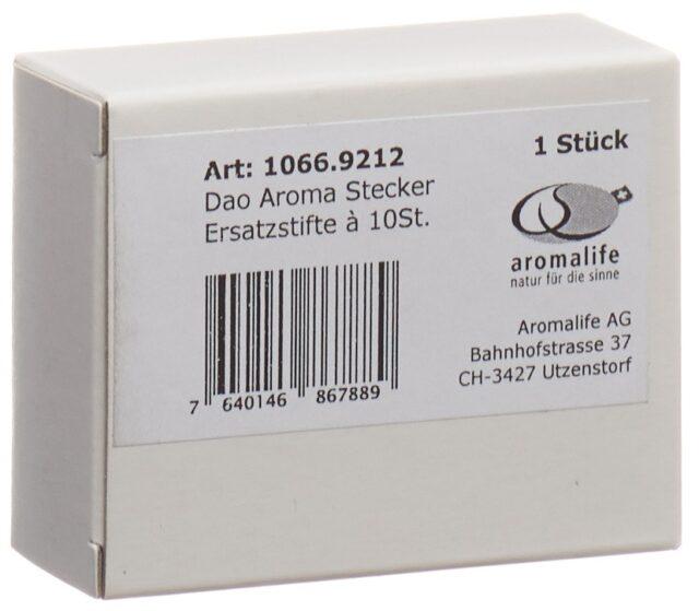 aromalife DAO Aroma Stecker Ersatzstifte (10 Stück)