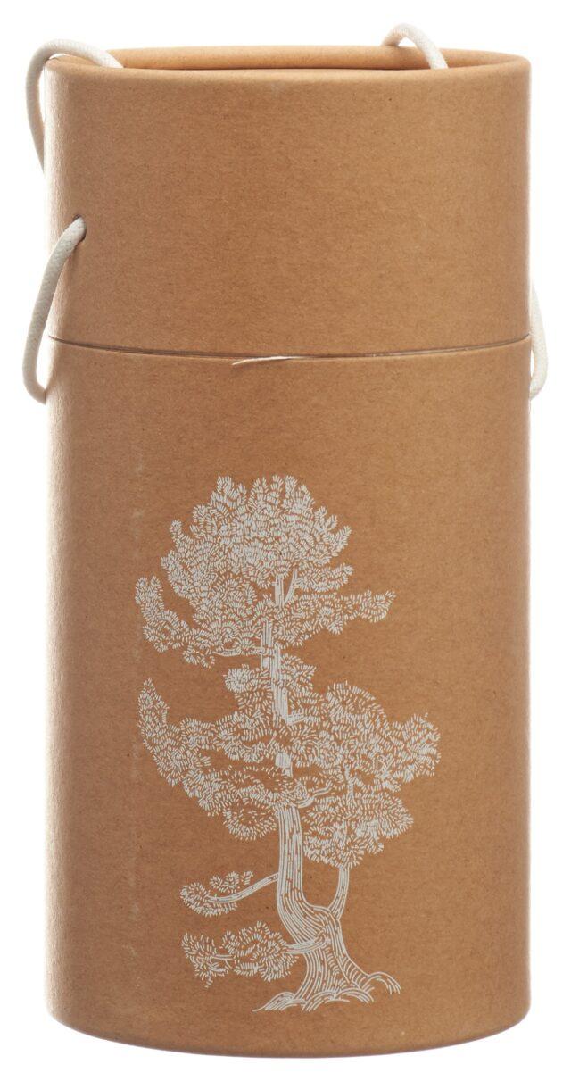aromalife Pinus Cembra Duftholz Globe inklusiv ätherisches Öl & Späne (1 Stück)