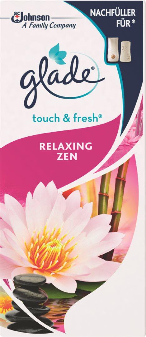 glade Touch & Fresh Minispray Nachfüller Relaxing Zen (10 ml)