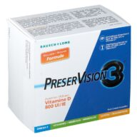 Bausch & Lomb PreserVision 3 + Vitamin D3