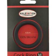 Silicone Cock-Ring Black M
