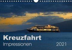 Kreuzfahrt Impressionen (Wandkalender 2021 DIN A4 quer)