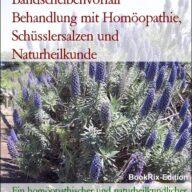 Bandscheibenvorfall Behandlung mit Homöopathie, Schüsslersalzen und Naturheilkunde