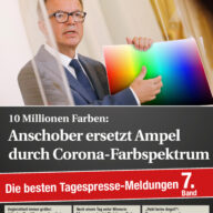 10 Millionen Farbe: Anschober ersetzt Ampel durch Corona-Farbspektrum